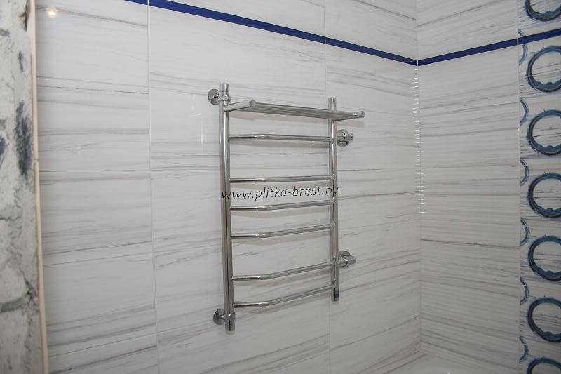 Установка замена перенос полотенцесушителя в Бресте 5
